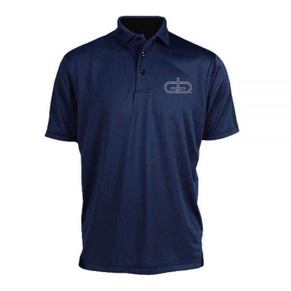 Navy Blue Rise Up Polo Product Image