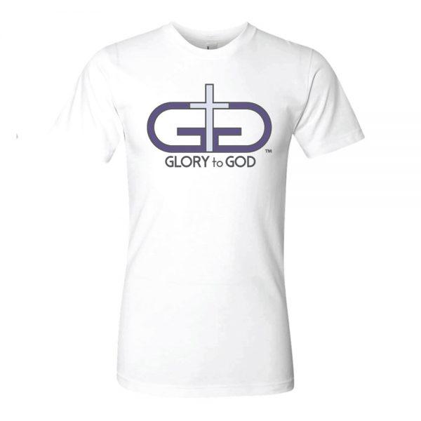 White Rise Up Liberty Logo Tshirt Product Image