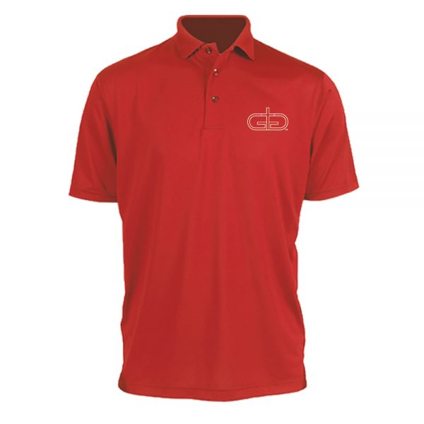 Red Rise Up Polo Product Image